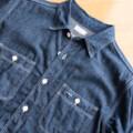 【ウエアハウスLot3076】シンプルなデニムシャツは使いやすいアイテム