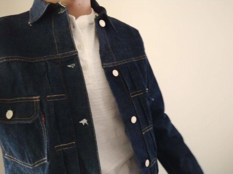 2ndデニムジャケットのコーディネート