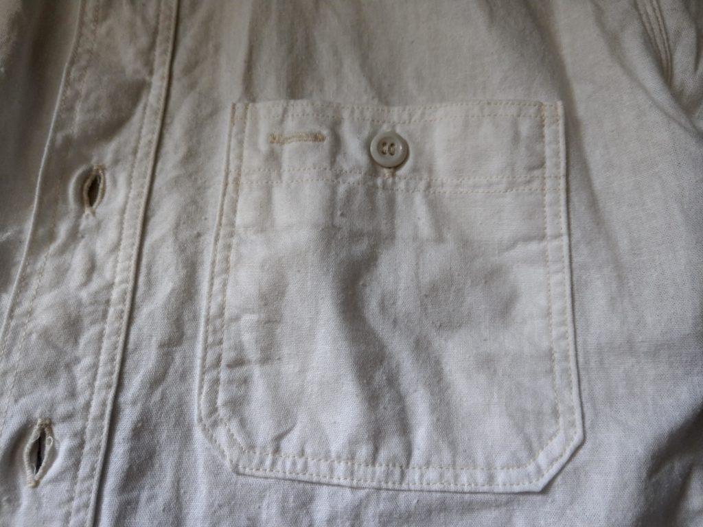 ウエアハウス シャンブレー ポケット
