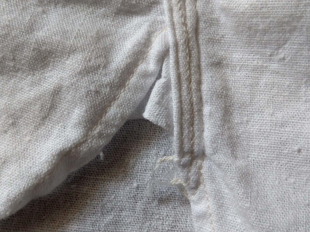 アメカジ白シャツ