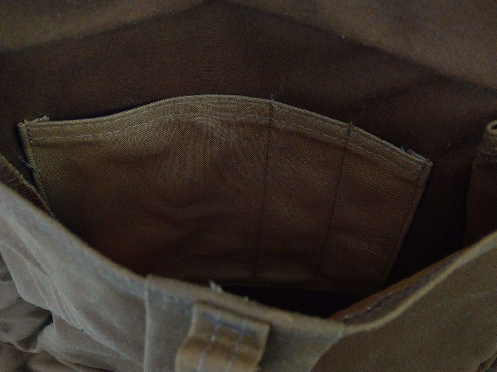 ジャーニーマンバックパック ポケット