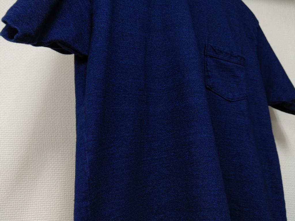 WAREHOUSE インディゴTシャツ 色落ちブログ