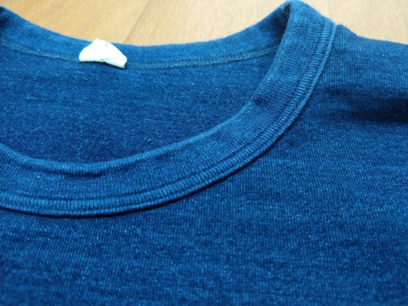 インディゴTシャツ 色落ち
