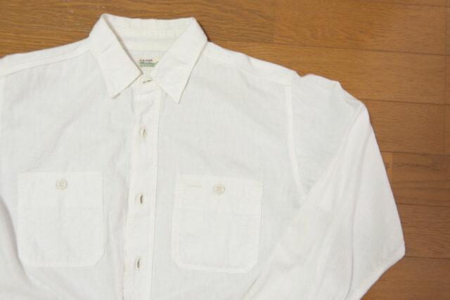 ウエアハウス 白シャツ