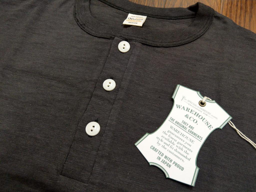 ヘンリーネック ウエアハウス Tシャツ