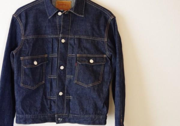 LEVI'Sのデニムジャケットの種類