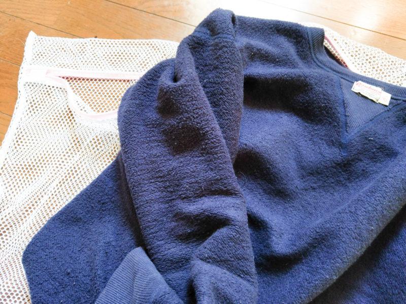 スウェットの洗い方と干し方