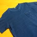 インディゴTシャツの色落ちレポート【WAREHOUSE Lot4053】