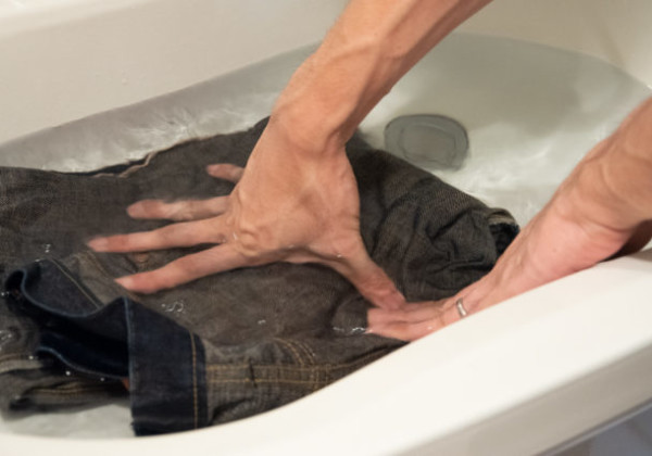 ジーンズ 洗い方