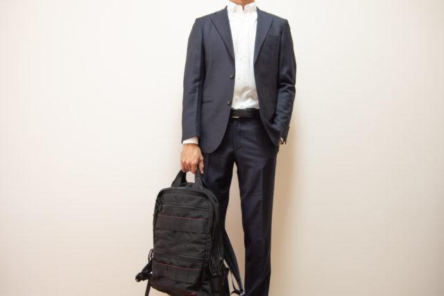 ブリーフィングのビジネス対応バックパック【SQ PACKのレビュー】