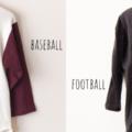 ウエアハウスの7分袖Tシャツを比較【ベースボールT &フットボールT】