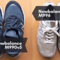 ニューバランスの名作!M990とM996の比較【おすすめは…?】