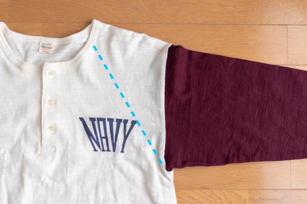 ウエアハウスLot 4058 ベースボールTシャツ