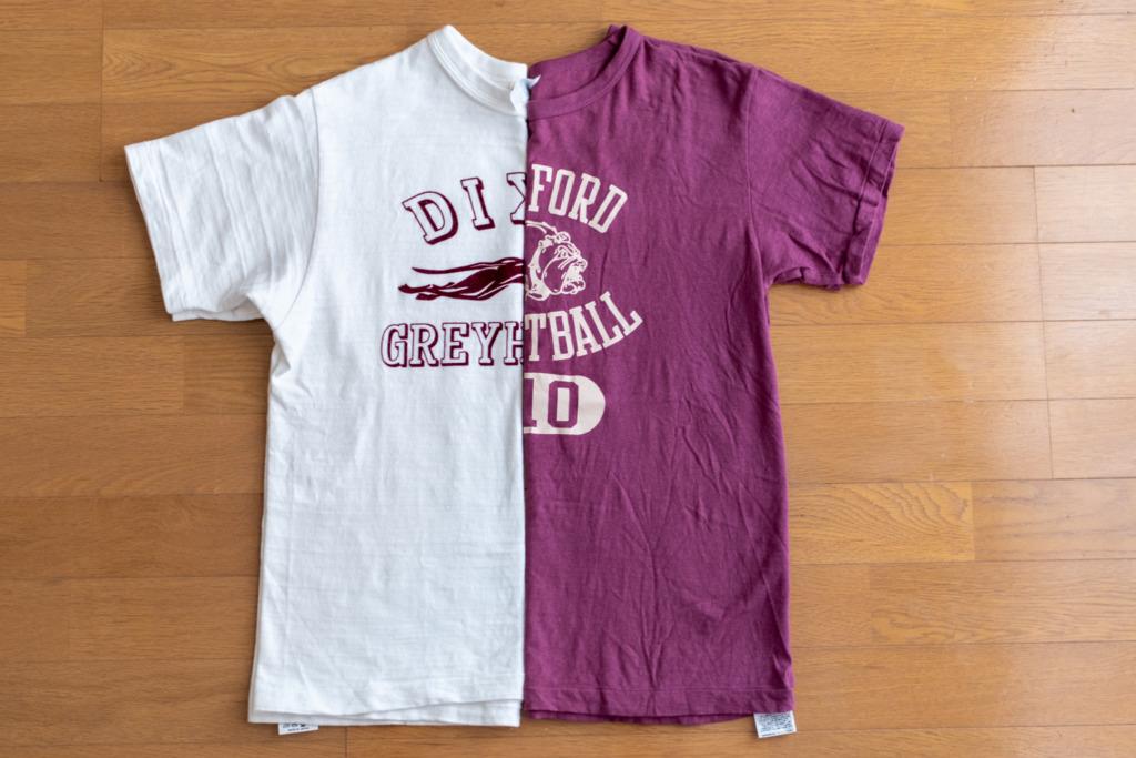 ウエアハウスの定番Tシャツの比較【Lot4601と Lot4064セコハンT】