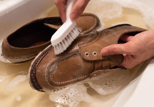 レッドウイング スウェード 丸洗い